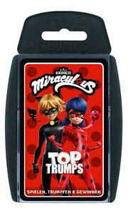 Top-Trumps-Miraculous-Ladybug-Quartettspiel-Kartenspiel-Quartett-Karten-Spiel