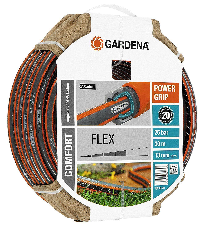 Gardena Schlauch Comfort Flex Gartenschlauch Power Grip Profil Profil Profil  Bewässerung 30m | Realistisch  | Sehr gute Qualität  |   3e2f8e