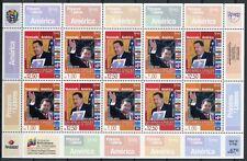 Venezuela 2014 UPAEP Hugo Chavez GEMEINSCHAFTSAUSGABE Kleinbogen ** MNH