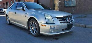2008 Cadillac STS PLATINUM, HEADS UP DISPLAY, GPS AWD
