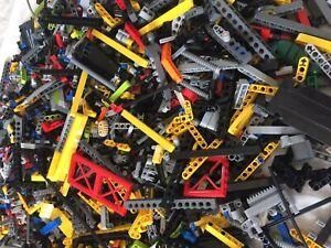 1kg-x850pc-039-s-LEGO-TECHNICS-BULK-LOT-BUILDING-PACKS-100-TECHNICS-LEGO