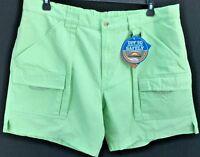 Columbia Pfg Brewha Shorts Hiking Fishing Multi Big Tall Sizes Mint Green