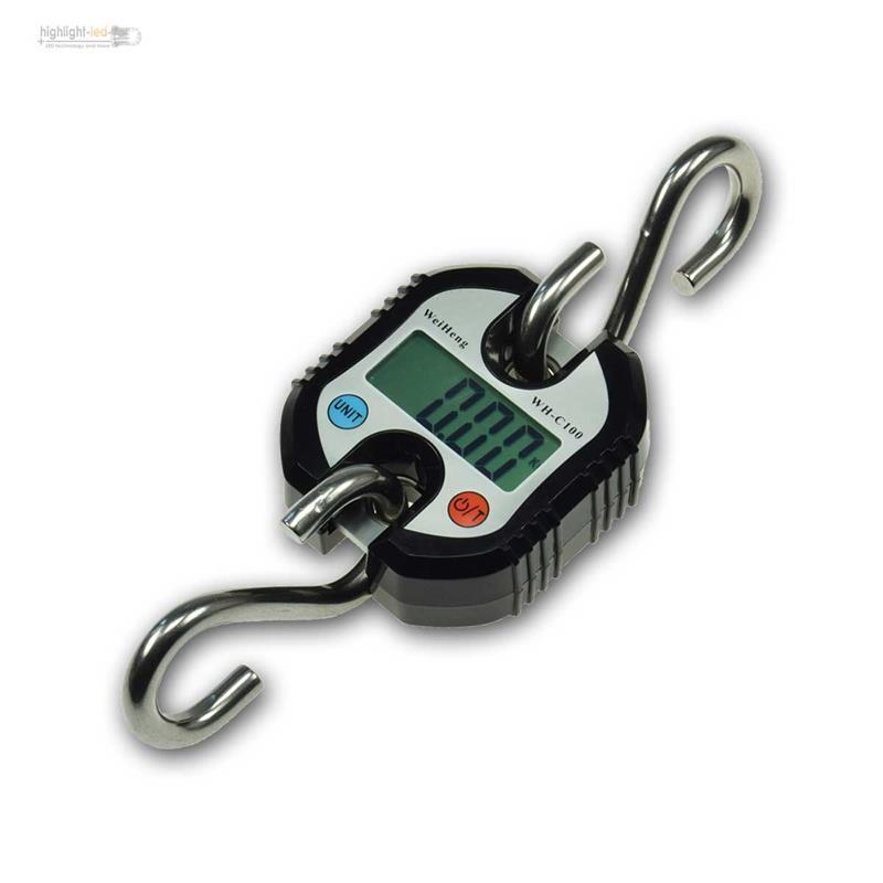 Hochlast-Hängewaage Balanza para Colgar Digital,0-150kg de Grúa  Balanza