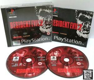 Resident-Evil-2-Sony-Playstation-ps1-Black-Label-Spiel-PAL-sehr-gute-CIB