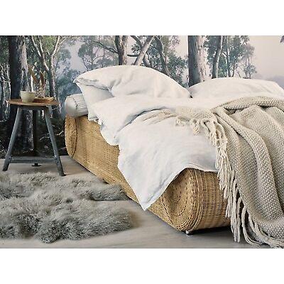Bett 180x200 Rattan Ehebett Doppelbett Rattanbett Schlafzimmer Möbel NEU RONDA