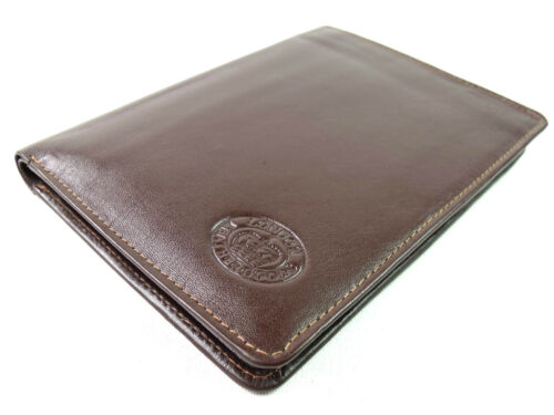 PREMIUM QUALITY LEATHER BOXED TRAVEL DOCUMENT PASSPORT//CREDIT CARD HOLDER WALLET