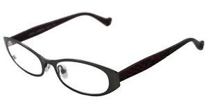 NEW-Cynthia-Rowley-Eyeglasses-CR-0341-Gunmetal-GUNMETAL-CR0341-50mm