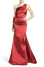 Sachin & Babi Noir  'Marilyn' One-Shoulder Jacquard Mermaid Gown ( Size 8)