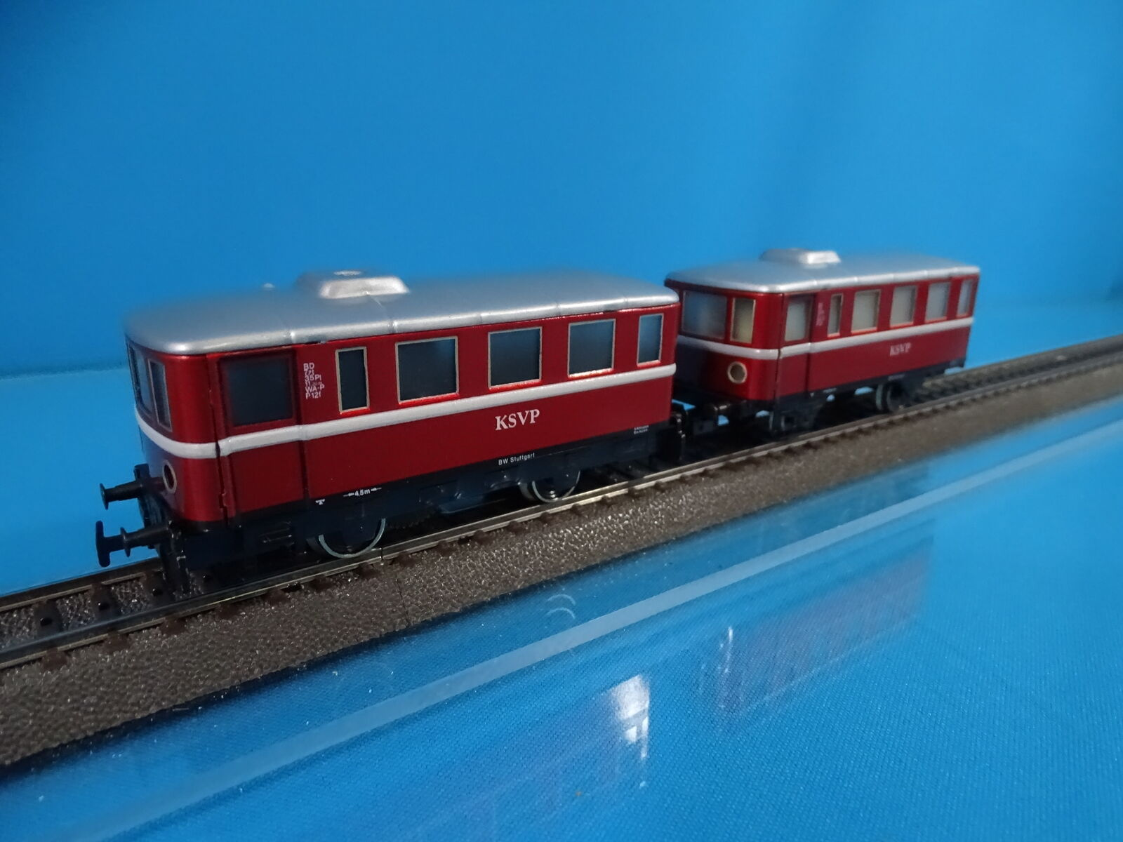 PRIMEX 3018 Rail Bus Set KSVP rojo