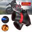 Pair Motorcycle Handbar Gloves Soft Thick Blanket Velvet W//Reflective Strip Warm