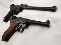 Replica German P-08 Luger Varieties Pistol Wwii Reenactor Photography Prop Gun