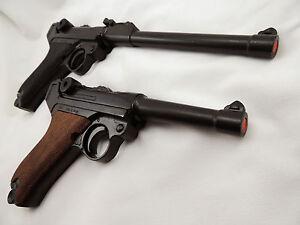 Replica German P-08 Luger Varieties Pistol WWII Reenactor