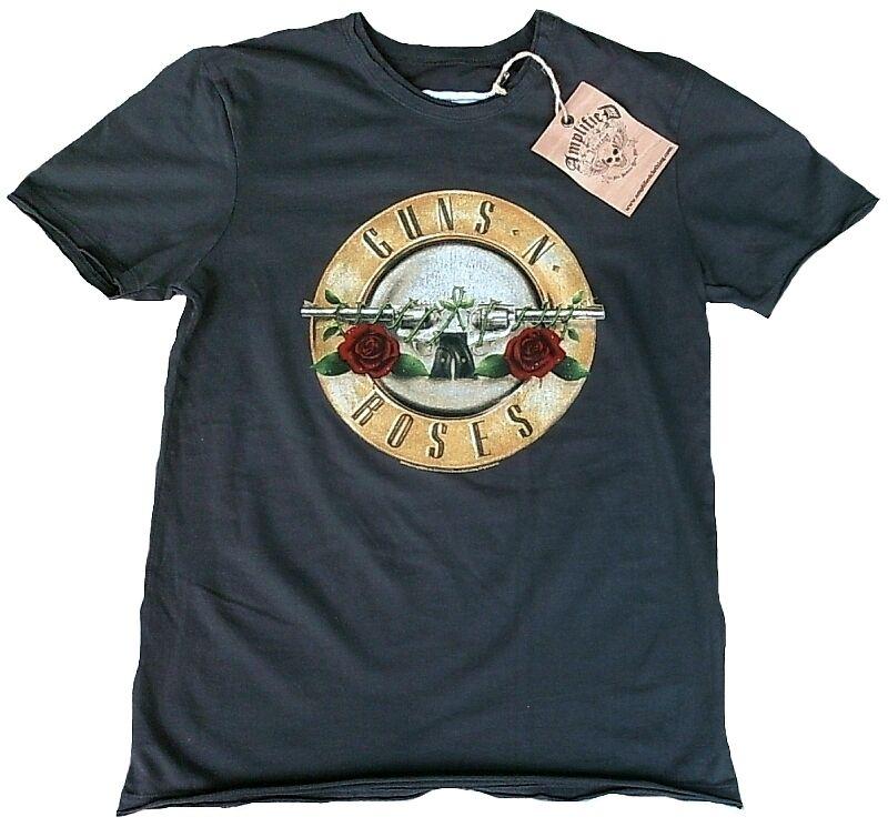 Amplified Guns N Roses Drum Logo Rock Star Vintage M/L Desinger T-Shirt G. M/L Vintage 50/52 fe9c1a