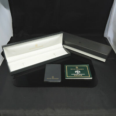 Revue Thommen Watch Box Case 100%authentic Fz6326 Sa1 Complete In Specifications Boxes, Cases & Watch Winders