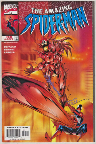 AMAZING SPIDERMAN#431 NM 1998 'CARNAGE' MARVEL COMICS