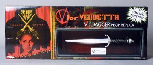 NECA V For Vendetta V/'s Dagger Prop Replica