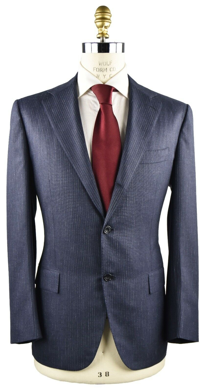 NEW KITON NAPOLI SUIT CASHMERE LINEN AND SILK SZ 44 US 54 R 19OS123