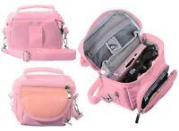 Pink Nintendo DS Lite/DSi/DSi XL/3DS/3DS XL Travel Bag Carry Case