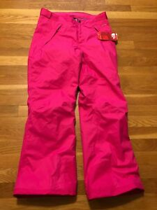d807b9514 Details about The North Face Freedom Insulated Pink Girls Youth Snow Pants  Sz 18 XL NWT