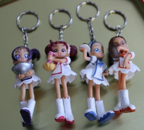 no sailor moon lot 4 porte clefs// figurines héroines manga magical doremi neuf