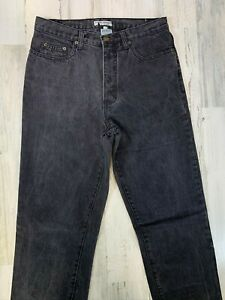 Vintage-Guess-Georges-Marciano-Black-Jeans-32x36-Made-in-USA