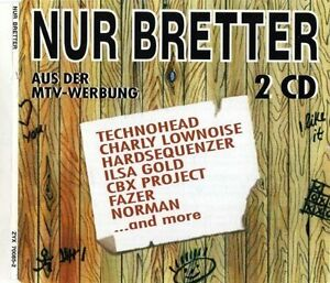 Nur-Bretter-1993-zyx70085-Technohead-Charly-Lownoise-amp-Mental-Theo-2-CD