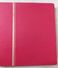 Stamp Album - Stock Books,20 Sheets-40 Sides-Size 22x27-Fine Quality-Fresh Stock