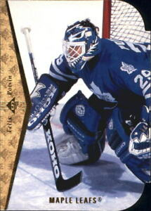1994-95 SP Hockey Die Cuts #117 Felix Potvin Toronto Maple Leafs
