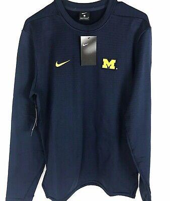 Exceder Incitar collar  Nike Michigan Wolverines Ncaa Football Moderno Sudadera Cuello Redondo para  Hombre Pequeño | eBay