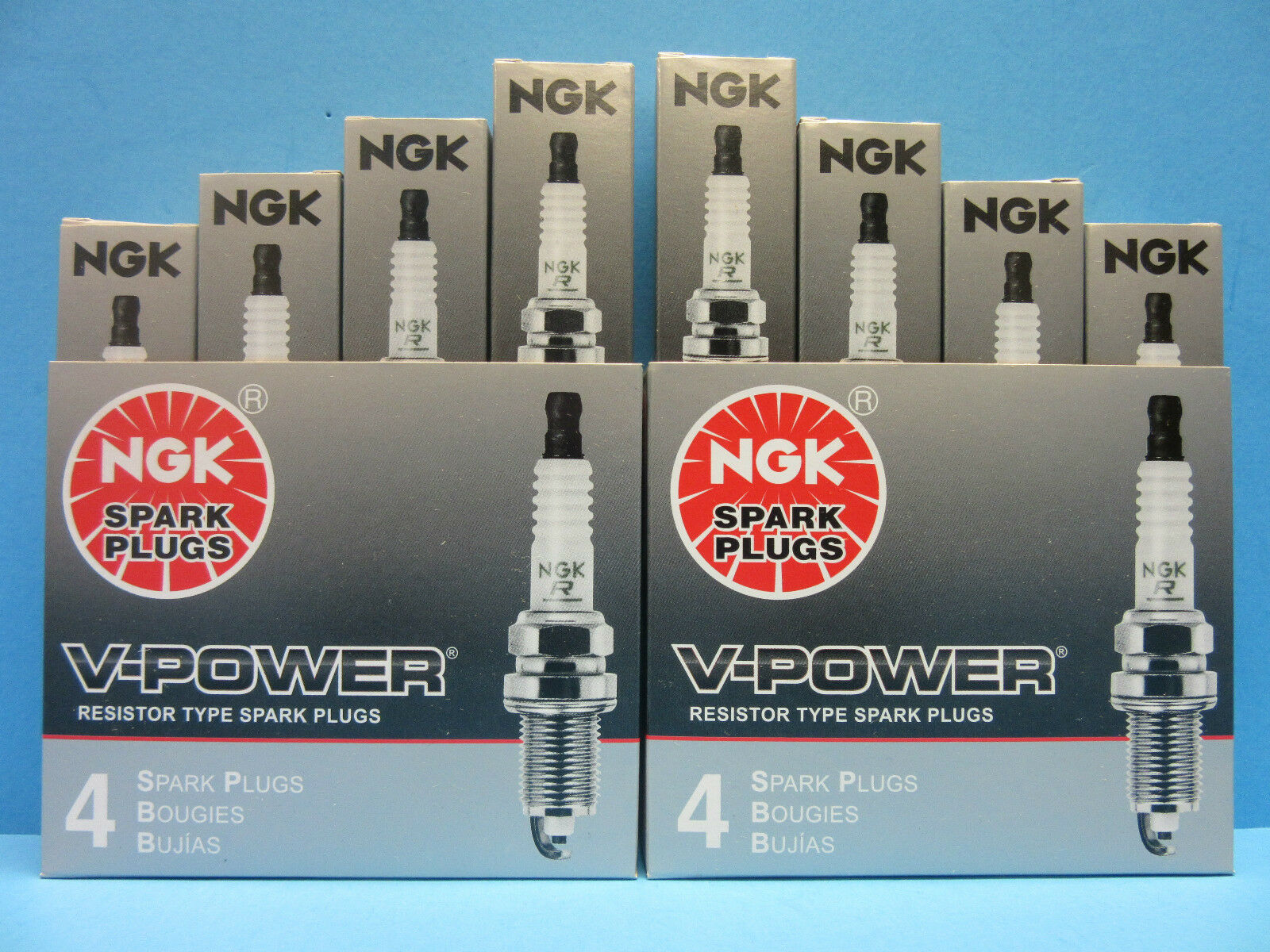 NGK Spark Plug BKR6E-11 NGK2756 x8