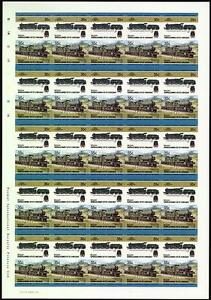 1938 Gwr Cookham Manor Class 7800 4-6-0 Imperf/imperforé Train Stamp Sheet-rate Train Stamp Sheet Fr-fr Afficher Le Titre D'origine