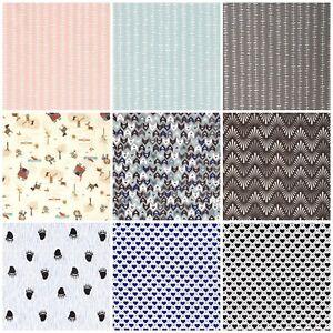 100/% Baumwolle Baumwoll Stoff Patchwork Deko Bekleidung Kinderstoff Mundschutz