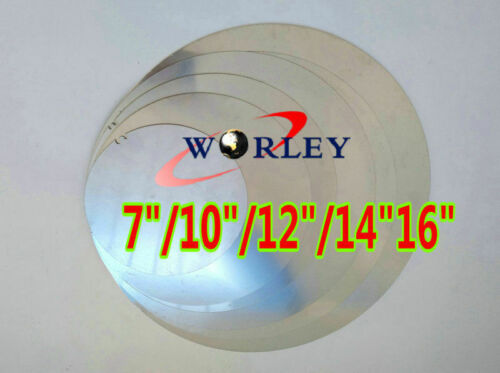 """405mm Aluminum Disc Circle Blank Plate Flat Sheet Round 2mm Thick 16/"""" inch DIA"""