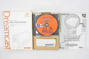 Dreamcast-Broadband-Adapter-Boxed-HIT-0400-0401-FREE-SHIPPING-SEGA-Ref-2204