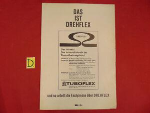 Bücher Sonnig Das Ist Drehflex Auszug Aus Heizungs-journal Juni 1966 Ca.30x21cm.