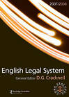 English Legal System: 2007-2008 by Taylor & Francis Ltd (Paperback, 2007)