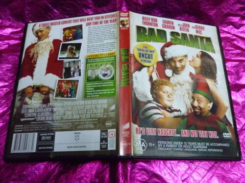 1 of 1 - BAD SANTA : (DVD, MA15+)