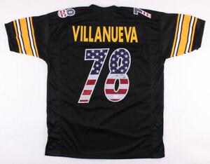 newest aff0e 713d1 Details about Alejandro Villanueva Signed Pittsburgh Steelers