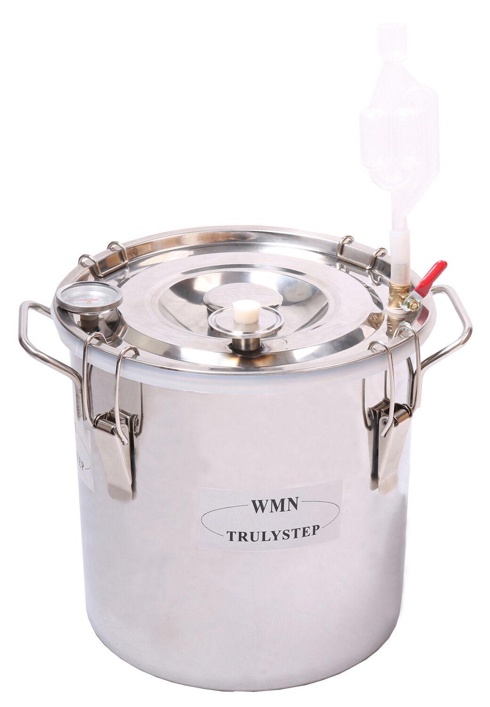 Pièces pour DISTILLERIE Destillieranlage  fermenteur POT & Thermomètre