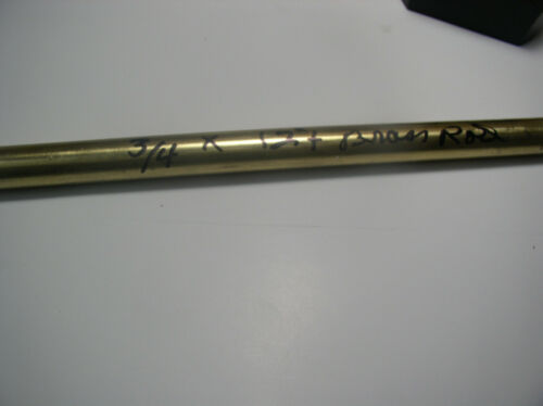 "3//4/""ROUND  BRASS ROD 12/"" OR LONGER 3//4/"" ROUND ROD+ 360 BRASS CHEAP DRIFT PUNCH"