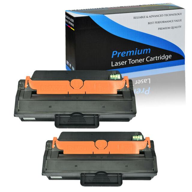 2 PK MLT-D115L Toner Compatible for Samsung 115L Xpress M2880FW M2830DW M2870FW
