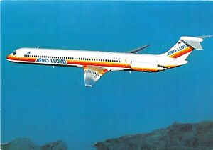 AERO-LLOYD-AIRLINES-McDONNELL-DOUGLAS-MD-83-POSTCARD