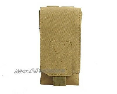 """5.5"""" Tactical Military Molle Cell Phone Pouch Case Belt Loop for iPhone6 Plus/6S"""