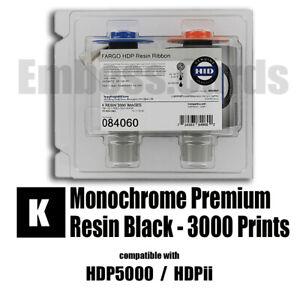 400 Prints  for HDP5000 HDPii 754563840596 YMCKIKI Fargo 84059 Color Ribbon