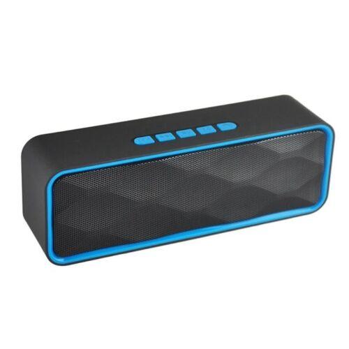 Wireless Bluetooth Speaker Portable Subwoofer Super Bass Stereo Loudspeakers US