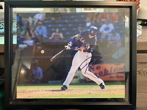 Josh-Hamilton-Texas-Rangers-Signed-11x14-Photo-COA-Autographed-Framed