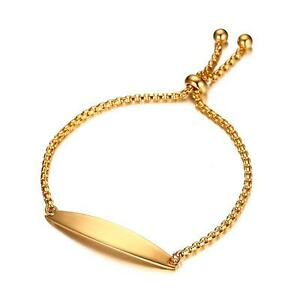 Image Is Loading 18k Gold Rose Bracelet Women 039 S