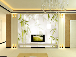 3D Bamboo 455 Wallpaper Murals Wall Print Wallpaper Mural AJ WALL AU Kyra
