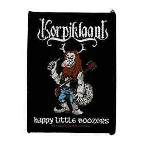 korpiklaani-WOVEN-PATCH-HAPPY-LITTLE-BOOZERS-Sew-On-Finland-Heavy-Folk-Metal