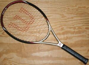 Wilson Hyper Hammer 3.3 115 4 3/8 Oversize OS Tennis Racket New Grip